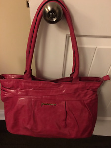 Dimoni Leather Bag. Made in Spain Mint Condition Pink