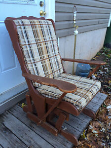 Easy Glide Rocking Chair