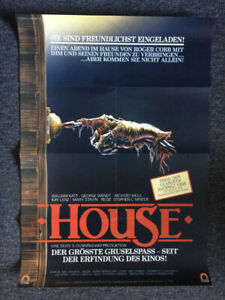 """House"" original 80s movie poster"