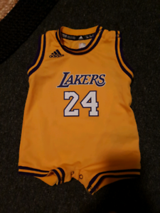 Genuine Adidas/Lakers jumpsuit size 6 months-1 Laurieton Port Macquarie City Preview