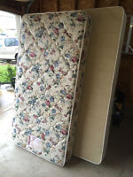 single Bed and Box spring