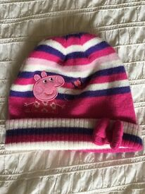 Girls Peppa Pig Hat