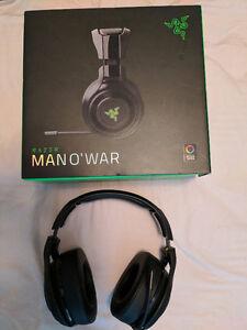 Razer ManO War wireless gaming headset like new!!!! $140 OBO