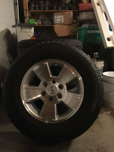 Like New: Toyota Tacoma rims and tires