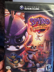 Game Cube - Harry Potter Quidditch & Spyro Hero's tail