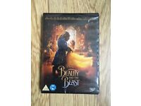 Disney's Beauty and the Beast dvd NEW/sealed 2017