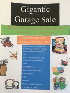 Gigantic Garage Sale - Innisfail, Six Families - This Weekend!