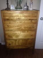 Mobilier chambre bois