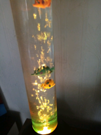 Bubble lamp fish!