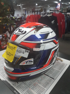 Arai RX-Q Electric Red Helmet Extra Large