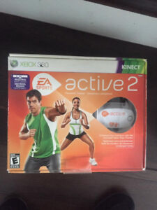 NEW  FOR XBOX 360 ACTIVE 2 - GET IN SHAPE