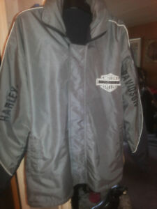 Harley Davidson Jacket Coat Reversible Rare Collectible Mens