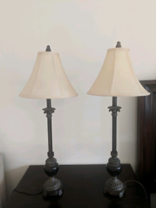 2 lamps from BomBay furniture