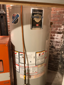 Used 50 G hot water tank