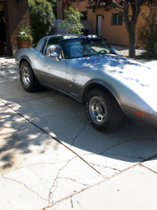 1978 Corvette Stingray Silver Anniversary edition