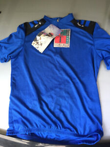 Blue Sugoi jersey new with tags size XL