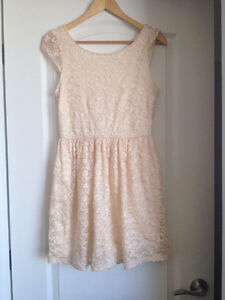 Against Nudity hipster lace dress size Small