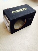 Fusion Subwoofer Box for a 12 inch sub