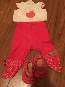 Very cute baby girl Gymboree set