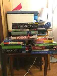 Textbooks and Clicker for Sale