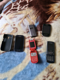 5 mobiles for sale all for just £25 pounds or £7 each or any 3 for £20