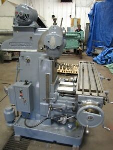 Van Norman 22L toolmakers Milling Machine