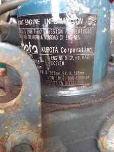 Kabota diesel .479liter engine + 115 volt generator London Ontario image 5