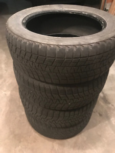 245/55/19 Blizzak Winter tires