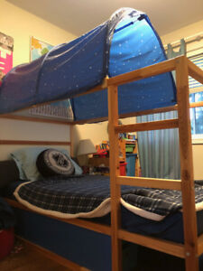 Ikea children's tent bed frame (mattress not included)