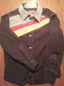 Boys Designer Energie Sixty (Miss Sixty) Made in Italy Shirt Sz6