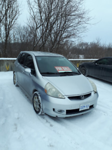 For Sale:  Honda Fit 2007 Sport:  $5500.00  Priced to SELL!