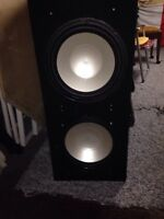 "2x 12"" Infinity Subwoofers in Box, great Deal!"
