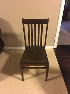 Antique Wooden Shaker Chairs