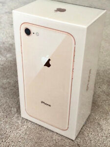 iPhone 8 Rose Gold 64GB Brand New in Box & Unused