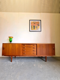 Danish Mid Century Sideboard by Clausen & Son