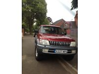 Toyota Landcruiser Colorado GXTD 8 seater 2000