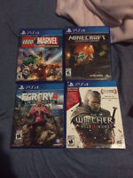 2 Playstation Games - 1 Xbox One Game for Sale.   PS4 Games: