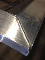 welding repair aluminum , steel and  stainless