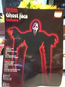 Kids Halloween Ghost Face Costume for Sale