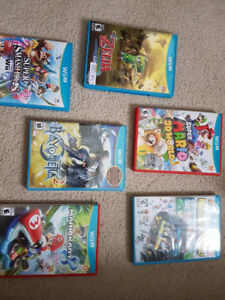 WiiU System and Games.