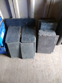 Roofing slate - assorted sizes
