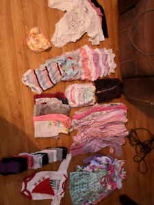 0-12 months baby girl clothes