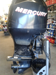 90HP Mercury (motor with controls)