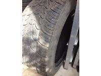 2 tyres, suit BMW X5 (rear)