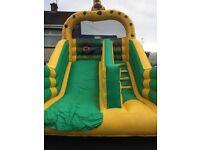 Bouncy castle slide platform height 7.5ft