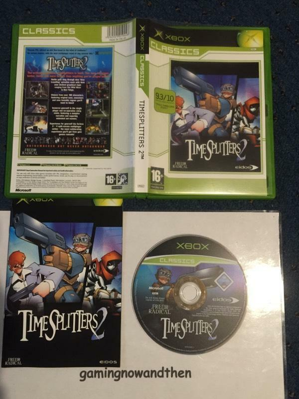 Splitters 2 Xbox Mint Time Splitters 2 Xbox