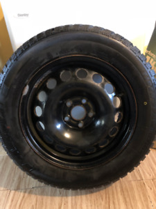 ** 4 Snow Tires  - Uniroyal Tigerpaw Ice and Snow 3 ** 215/60R16