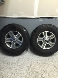 "17"" F150 wheels with Nitto terra grapplers"