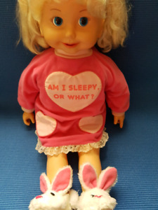 CRICKET DOLL BY PLAYMATE 1970'S