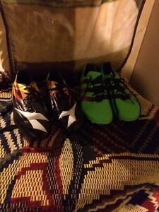 Selling diadora and addidas soccer shoes